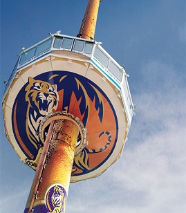 Tiger Sky Tower 摩天塔