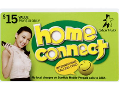 Starhub Home Connect $15