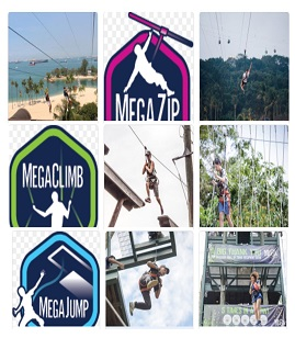 Mega Adventure (ZIP CLIMB JUMP)